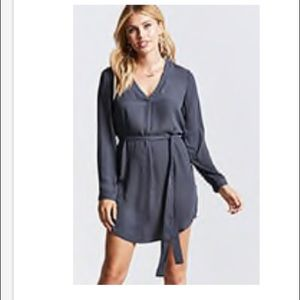 Forever 21 Gray Shift Dress with tags, Size Medium